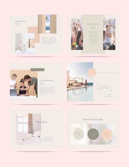 Sample Hotel Event Plan Presentation