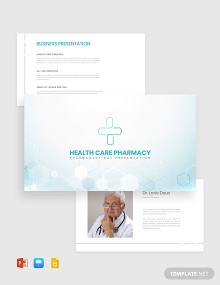 Pharmaceutical Presentation Template