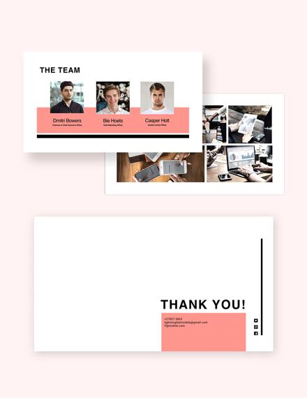Sample Product Presentation