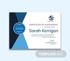 Music achievement certificate template in adobe photoshop free academic achievement certificate template yadclub Choice Image