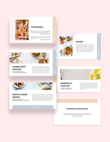 Restaurant Presentation Download