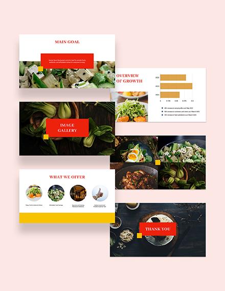 Sample Simple Restaurant Presentation
