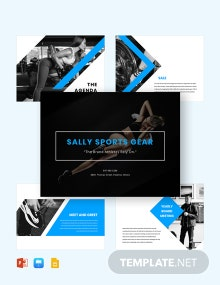 Sports Presentation Template