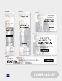 Free Business Ad Banner Template