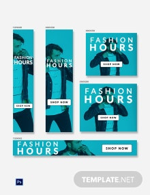 Free Fashion Ad Banner Template
