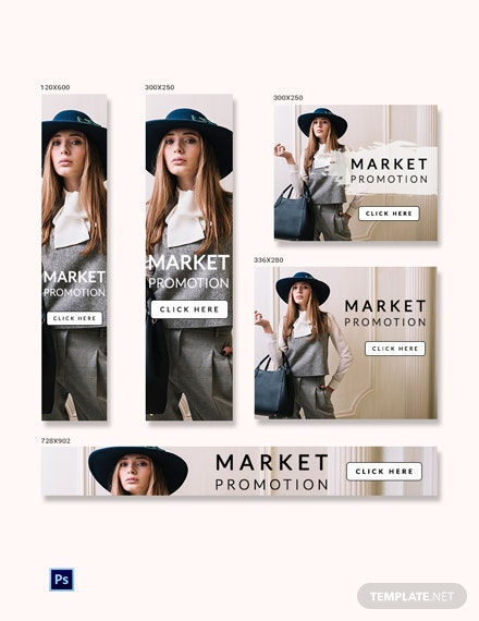 Free Promotional Ad Banner Template