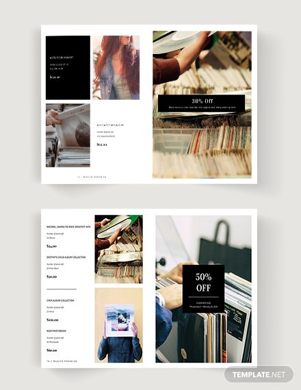 Download Advertising Catalog Template