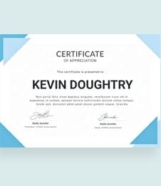 Free Certificate of Appreciation Template