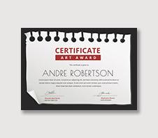 soccer certificates template
