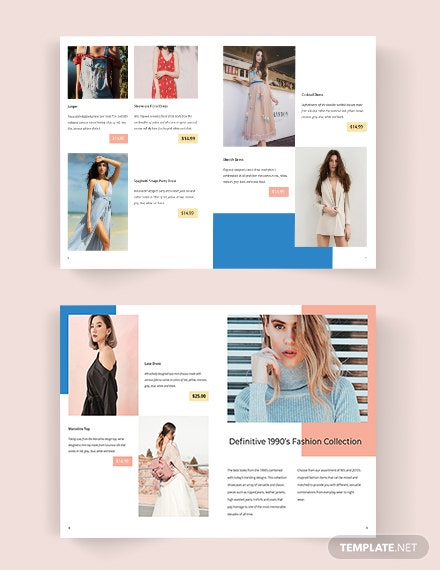 Download Fashion Catalog Template
