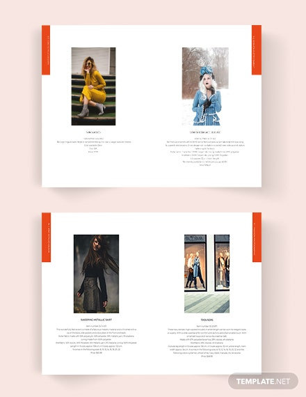 Download Fashion Lookbook Catalog Template