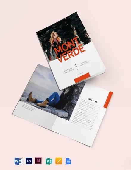 Fashion Lookbook Catalog Template