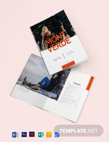 Fashion Lookbook Catalog Template