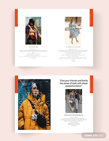 Fashion Lookbook Catalog