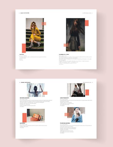 Download Fashion Photographic Catalog
