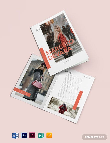Fashion Photographic Catalog Template