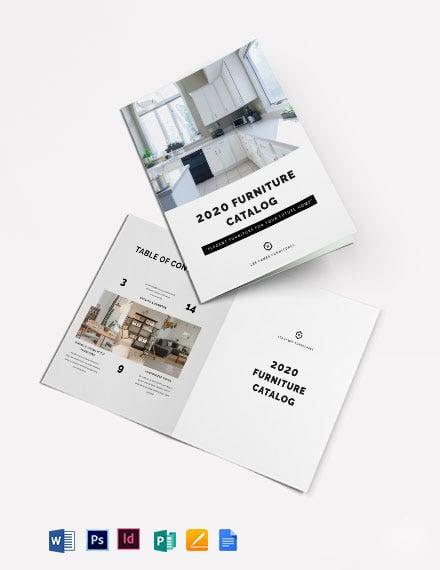 Interior Design Catalog Template