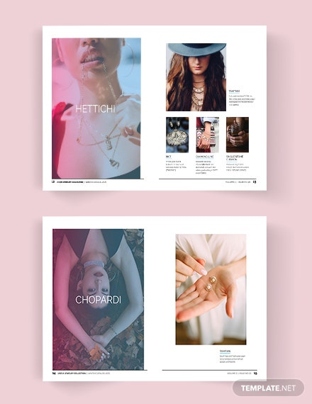 Jewelry Brand Catalog