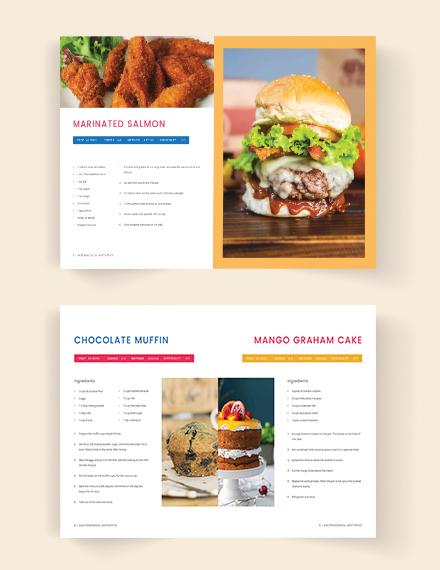 Download Printable Cookbook Catalog