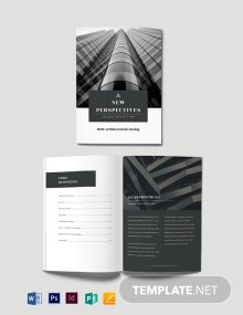 Professional Catalog Template