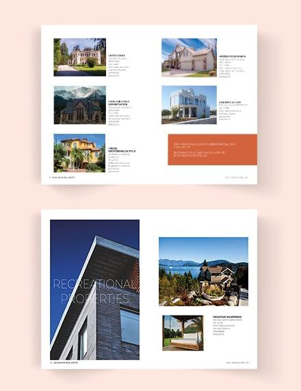 Editable Real Estate Catalog