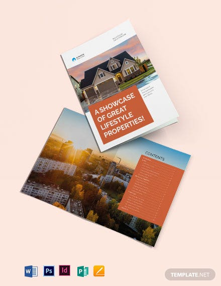 Real Estate Catalog Template