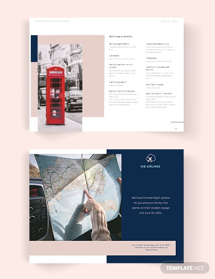 Editable Travel Guide catalog