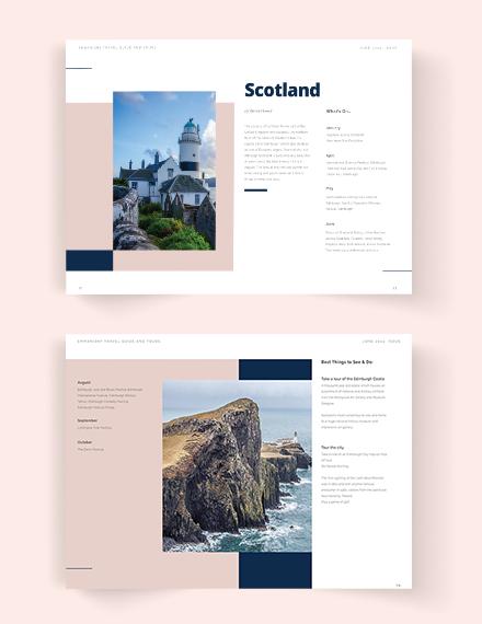 Sample Travel Guide catalog