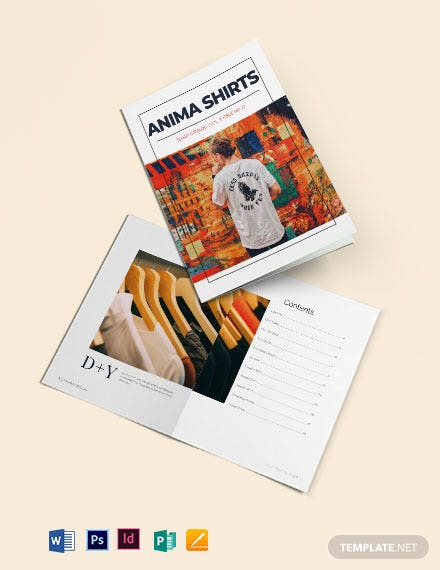 T-Shirt Catalog Template