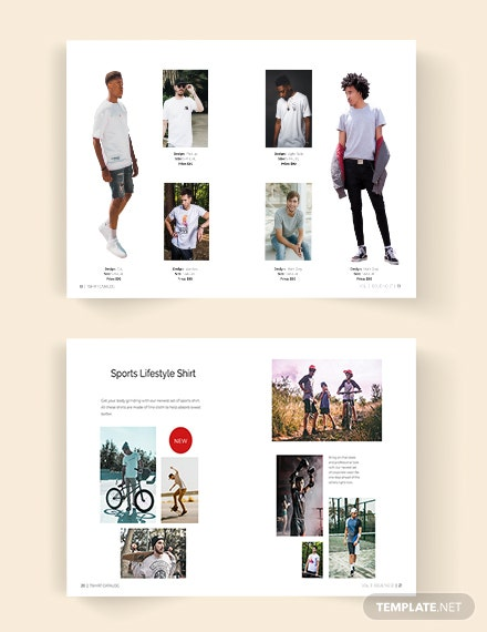 TShirt Catalog Template