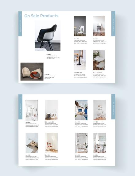 Printable Sales Catalog