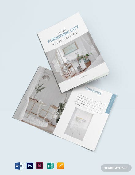 Sales Catalog Template