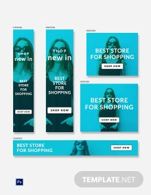 Shopping Ad Banner Template