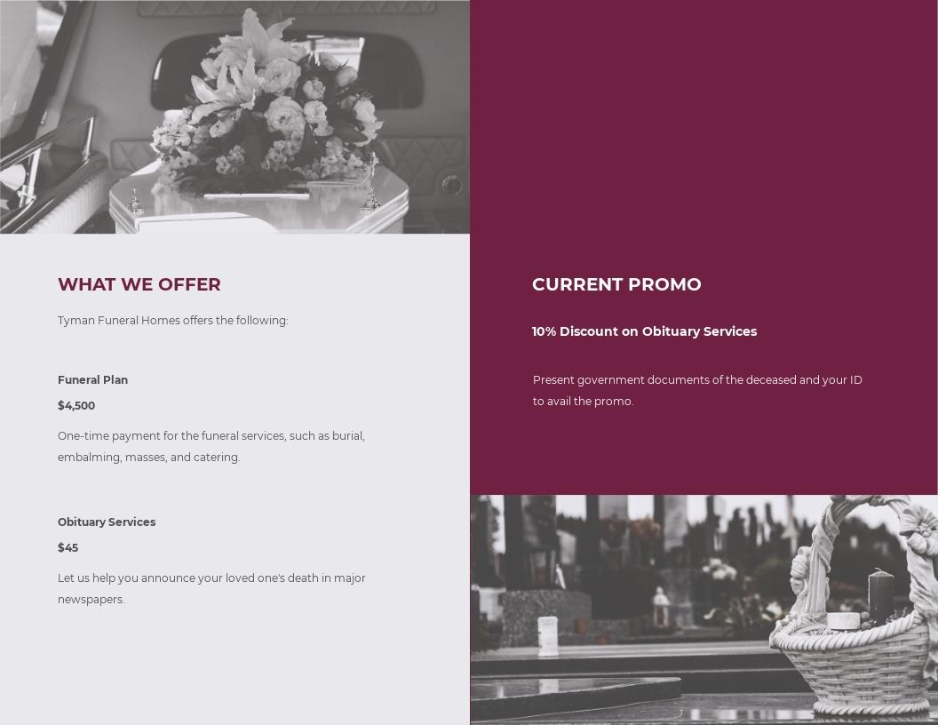 Floral Funeral Service Bi Fold Brochure Template 1.jpe