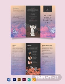 Funeral Pre Planning Tri-Fold Brochure Template