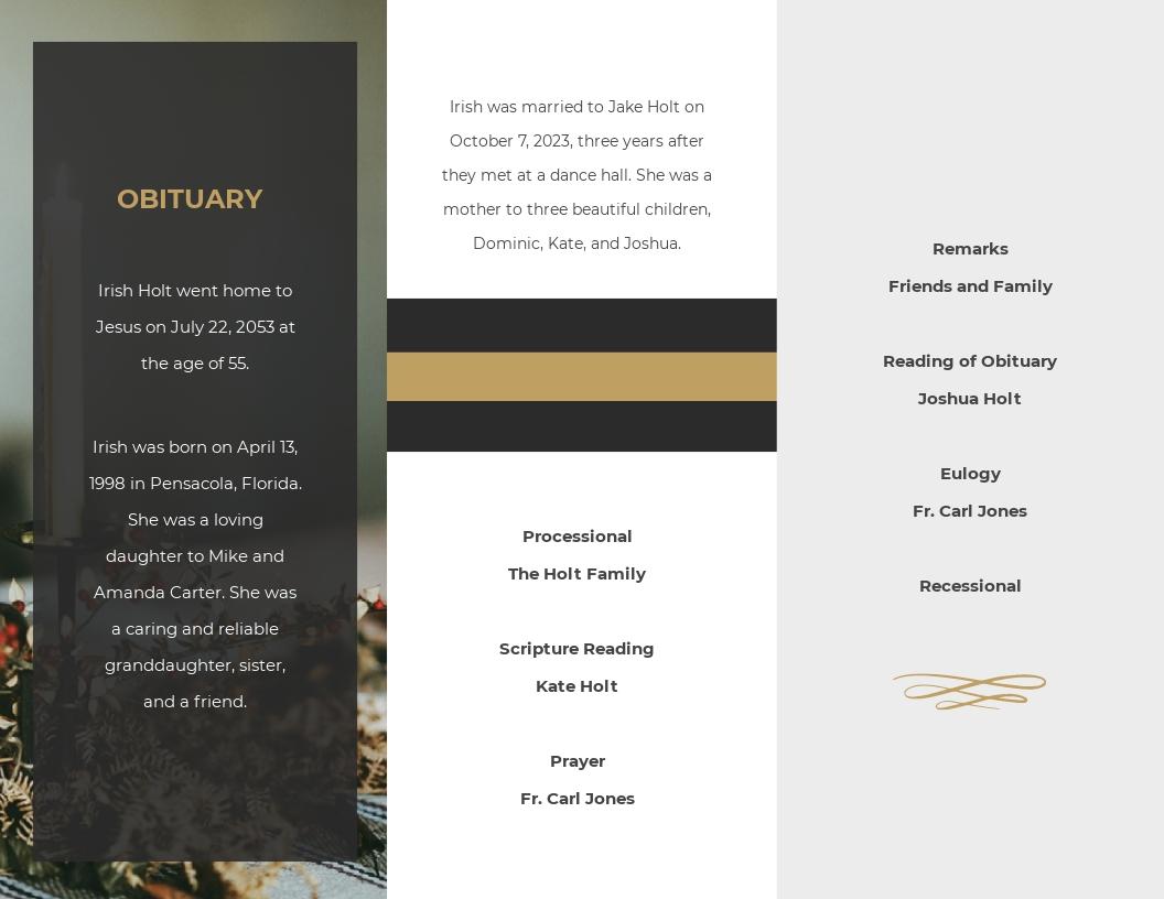 Funeral Program Booklet Tri Fold Brochure Template 1.jpe