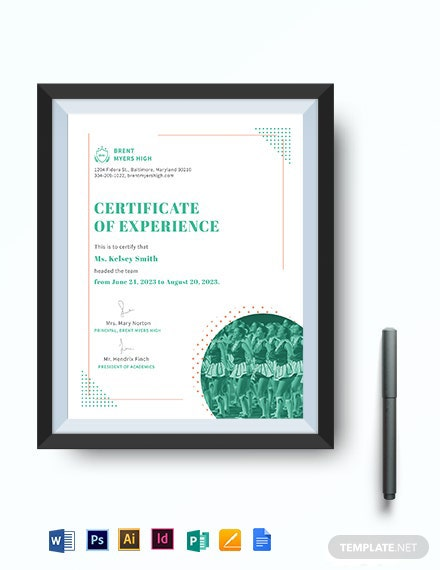 Cheering Certificate Template