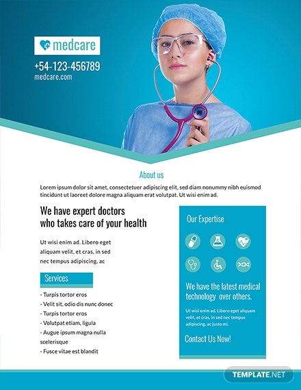 free sample medical flyer template download 416 flyers in psd
