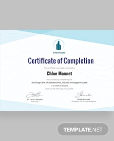 Free industrial training certificate template in adobe photoshop free nurse training certificate template yelopaper Gallery
