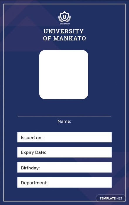 free blank id card template download 128 cards in illustrator