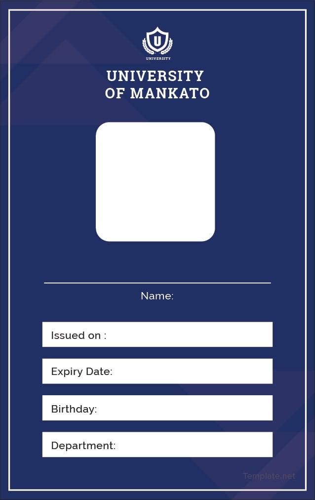 free blank id card template in adobe illustrator