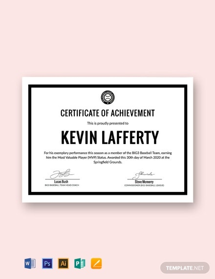 271  free certificate templates