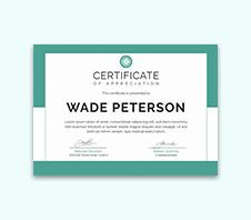 Free Soccer Award Certificate Template