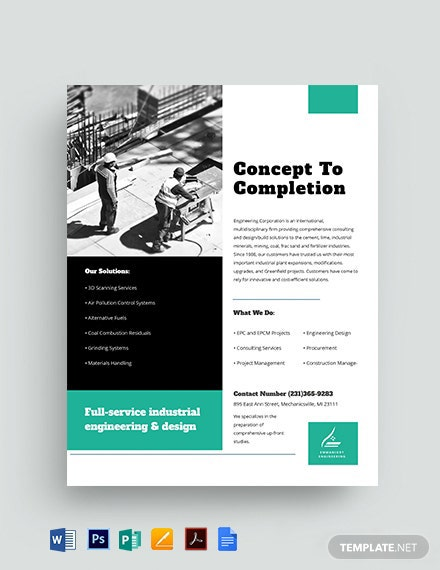 Engineering Datasheet Template [Free PDF] - Google Docs, Word, Apple Pages, PSD, Publisher