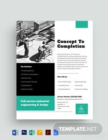 Engineering Datasheet Template