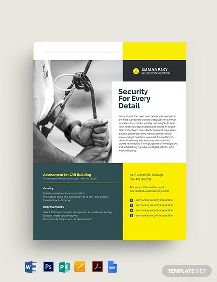 Safety Datasheet Template [Free PDF] - Google Docs, Word, Apple Pages, PSD, Publisher