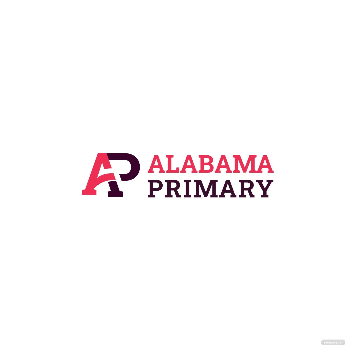Alabama Primary Logo Template