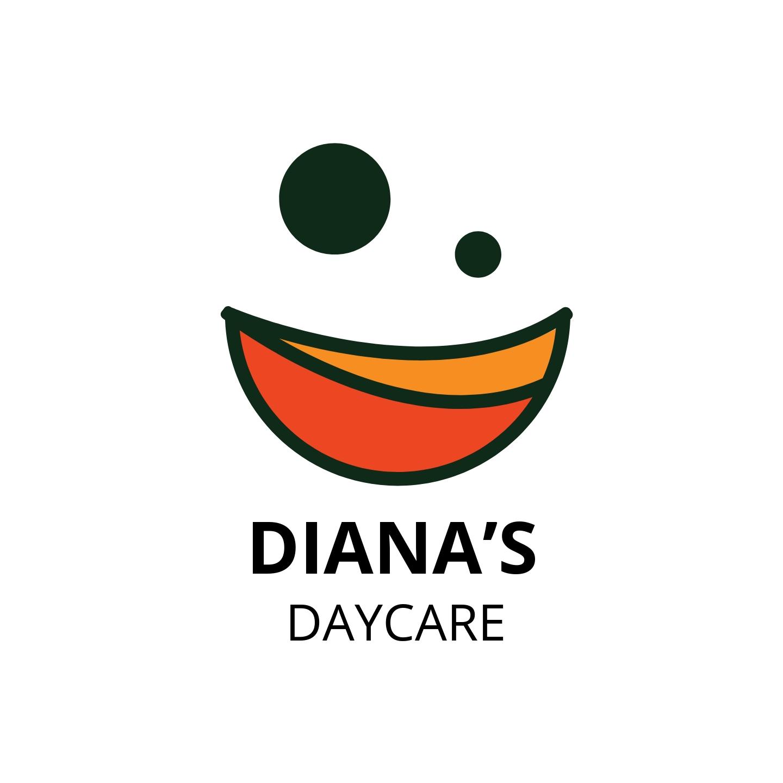 Diana's Daycare Logo Template