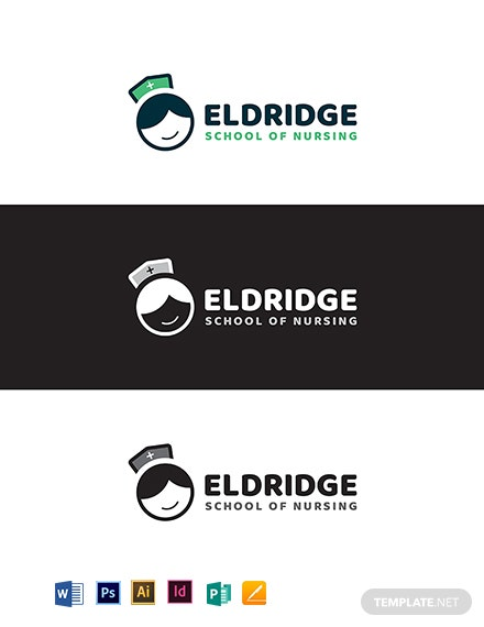 Eldridge School of Nursing Logo Template