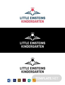 Little Einsteins Kindergarten Logo Template